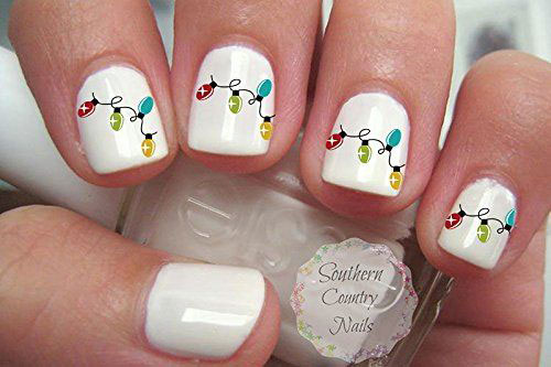 20+ Cute Christmas Nail Art Stickers & Decals 2019