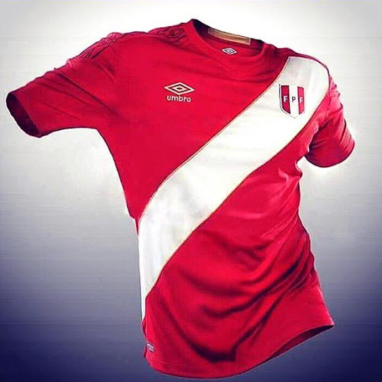 b216c4d5f Peru 2018 World Cup Away Kit Revealed - Footy Headlines