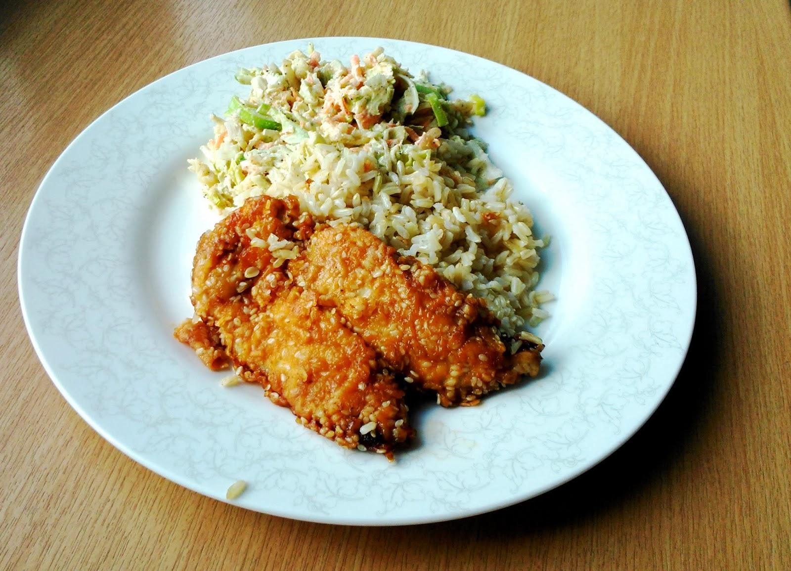 Filety z kurczaka z dzikim ryżem