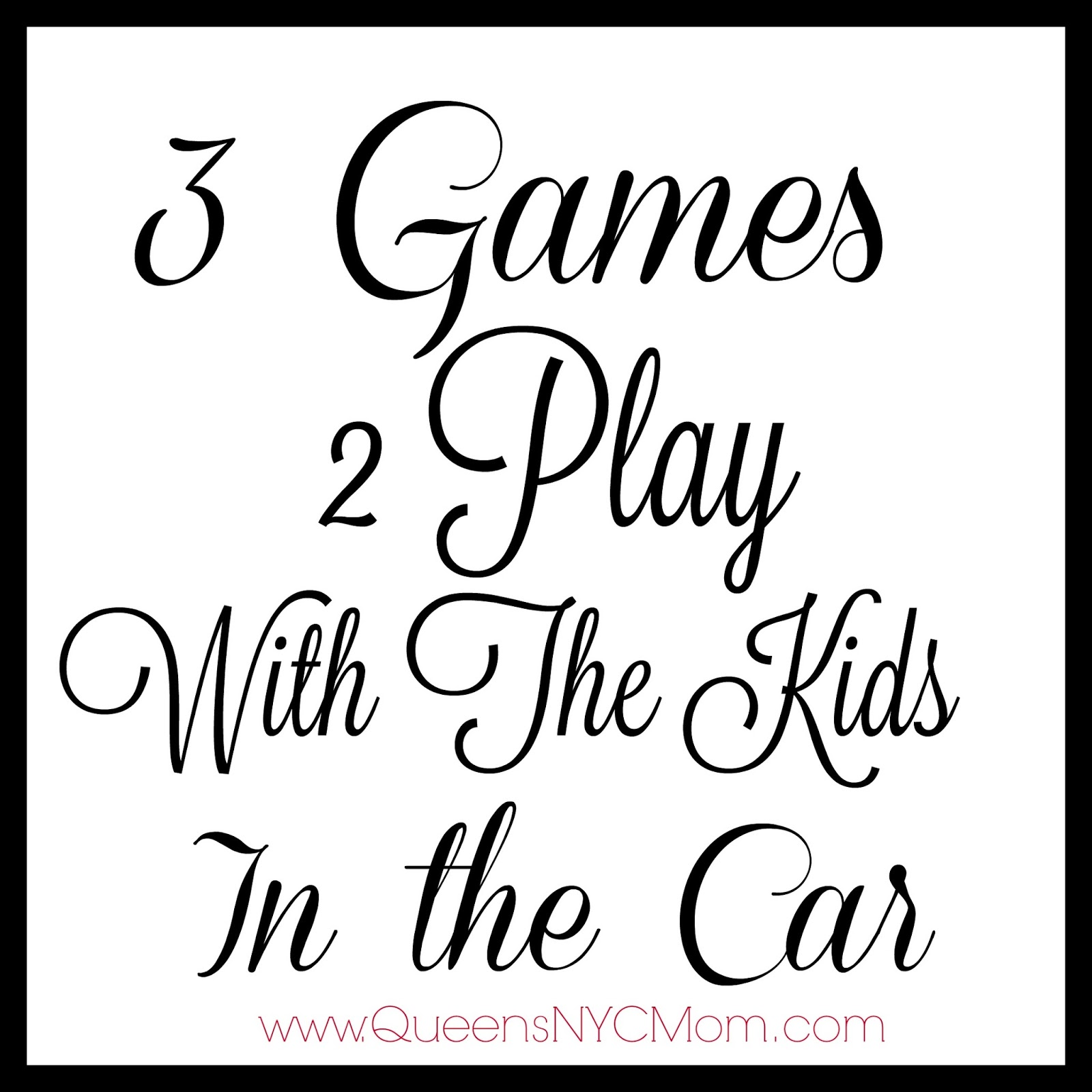 what parent hasnt heard theyre kids say to them are we there yet i know i have many times i decided to play a game with my kids that taught them about