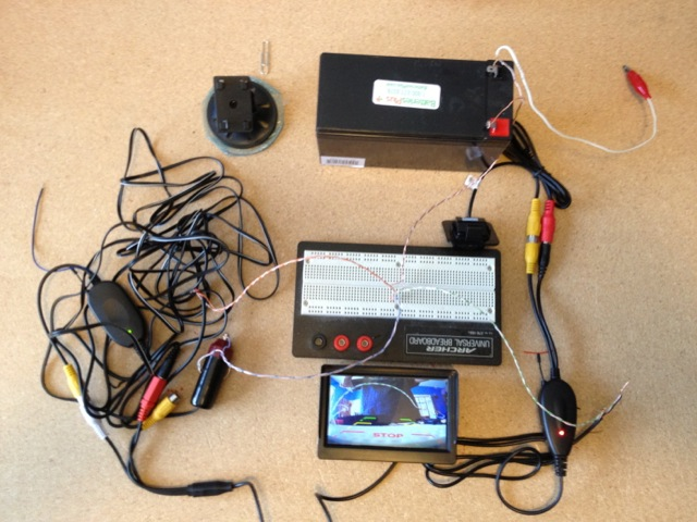 Diary of a Mad Overlord Add a rear-view camera to a 2012-2013