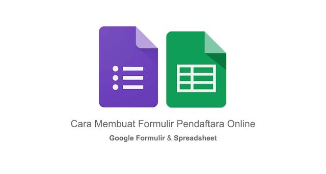 Cara Membuat Formulir Pendaftaran Online