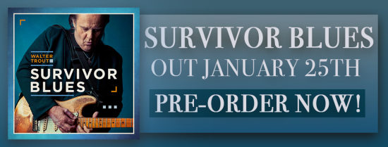 WALTER TROUT - Survivor Blues (2019) Inside