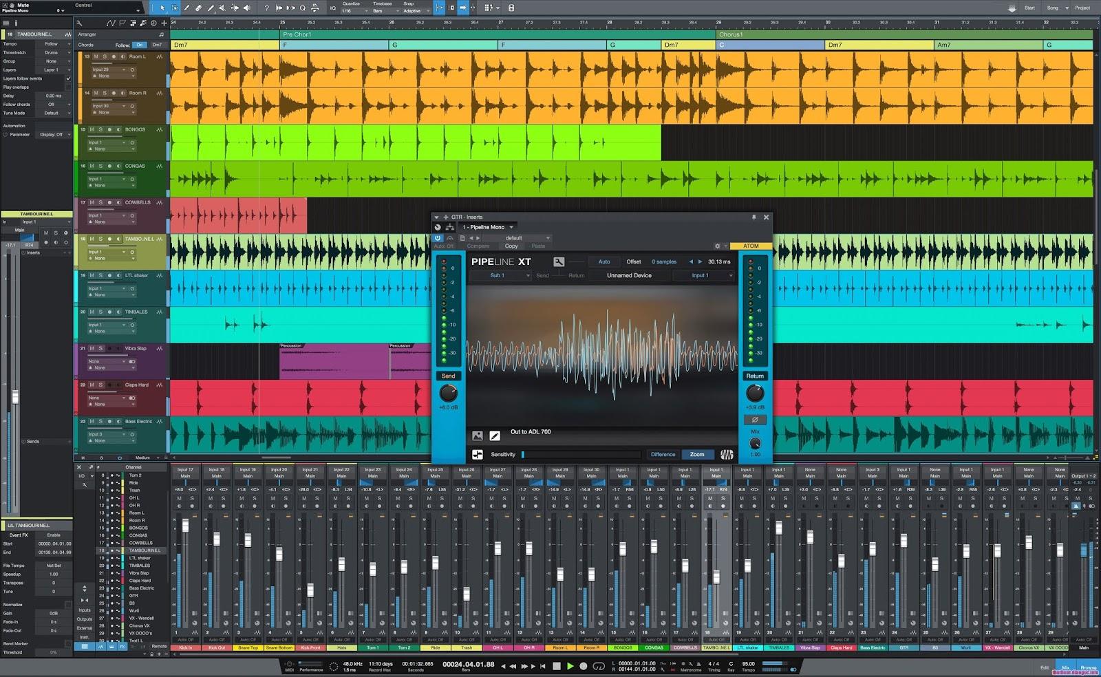Download Studio One Pro 4.1.0 Full Cr@ck- Phần mềm nghe và tạo nhạc chuyên nghiệp