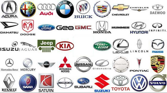 New Dream Cars American Car Company Logos