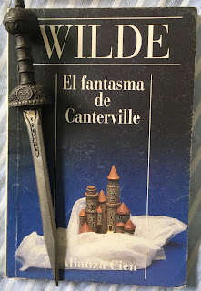 Portada del libro El fantasma de Canterville, de Oscar Wilde