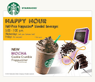 starbuck - PROMOTION - [ENDED] Starbucks Malaysia's Happy Hour