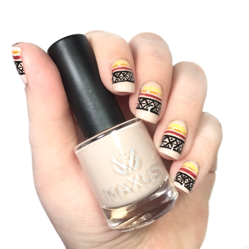 Fall Tribal Nails