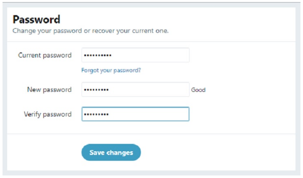 How to Change Your Twitter Password and Keep an Account Secure
