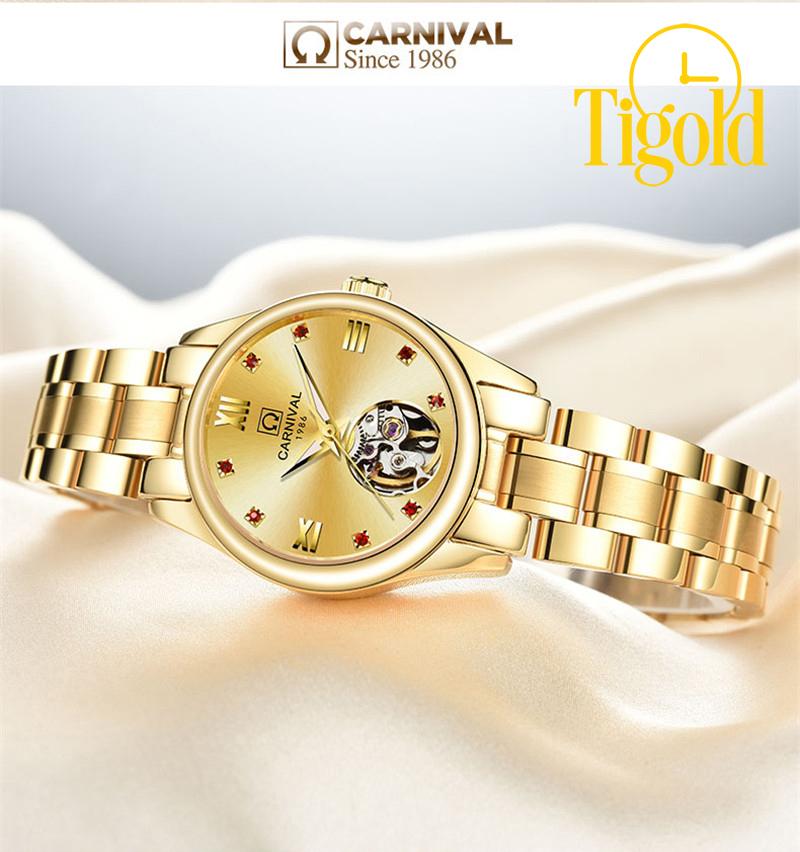 mua đồng hồ đeo tay nữ carnival
