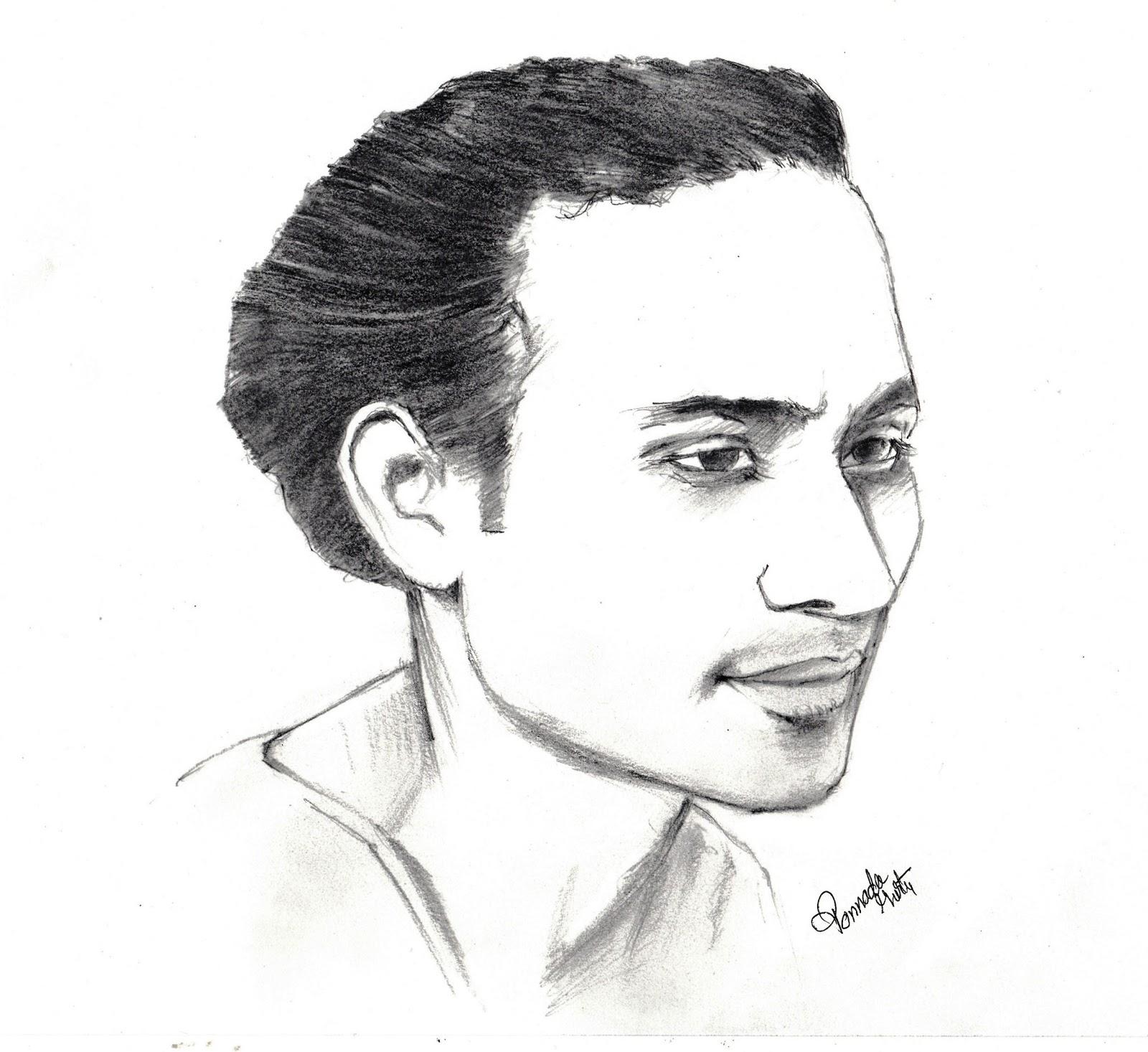 Sketches and Drawings : Pt. Vijaya Raghava Rao - Pencil ...