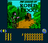 The Legend of Robin Hood - inspirado en Robin Hood