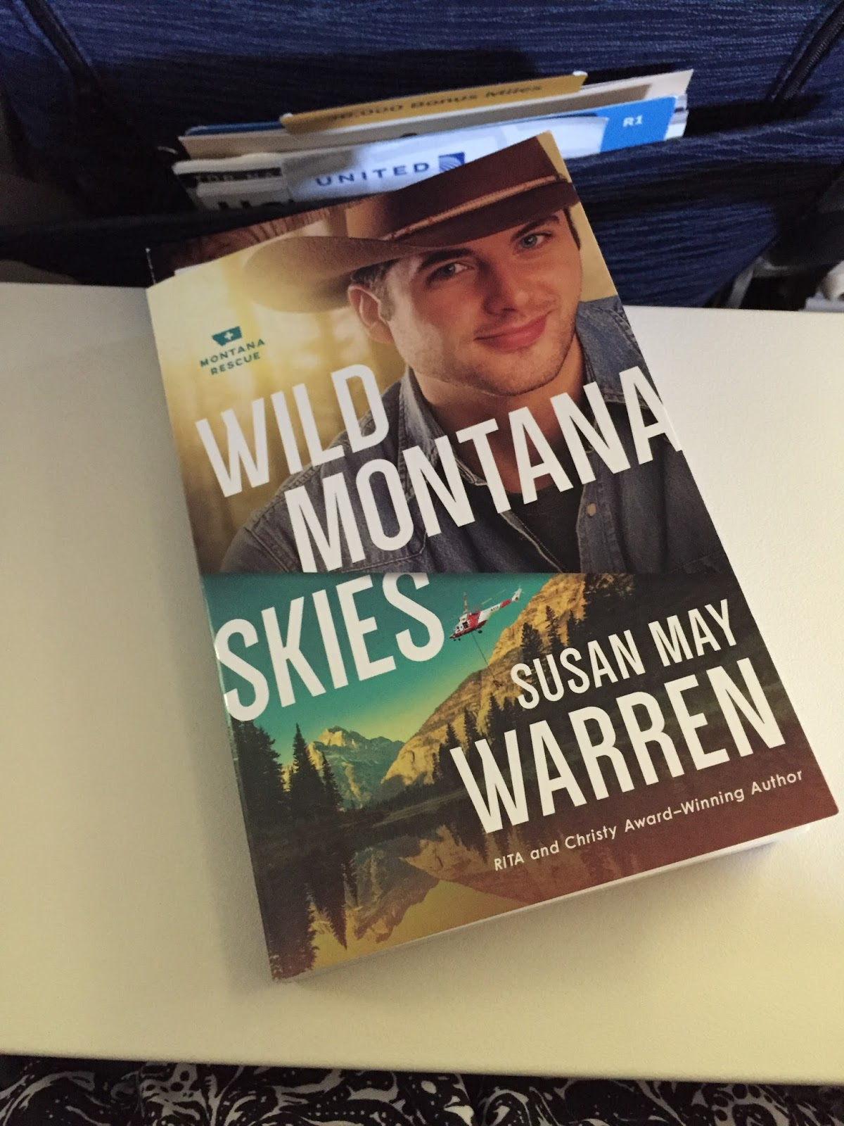 Wild Montana Skies sets the stage for this series with a fast paced tale of  an old romance being rekindled with some delightful complications.