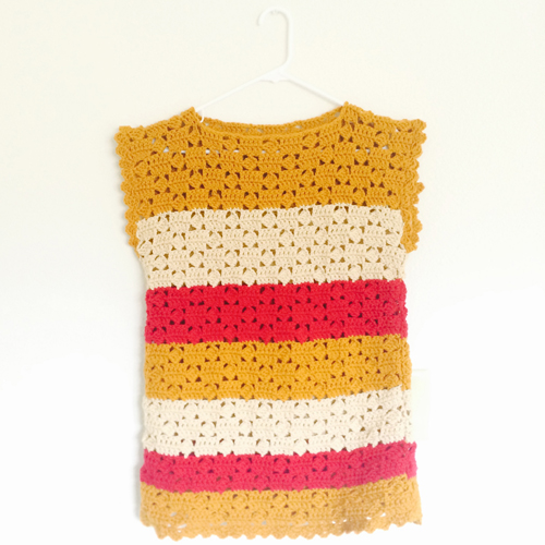 Striped French Sweater - Free Pattern