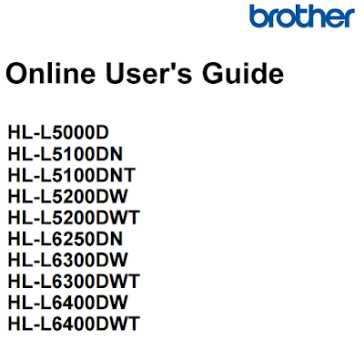 Brother HL-L5200DW User Manual