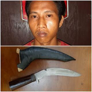 Selipkan Pisau di Pinggang, Warga Palembang Terjaring Razia Polisi