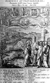 Luther's Notes on the Gospel: Quinquagesima — Faith Alone: Up to Jerusalem