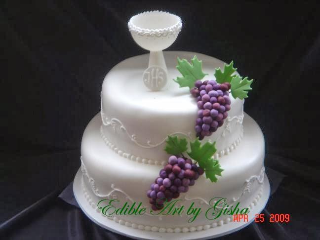 Holy Communion Wedding Cake