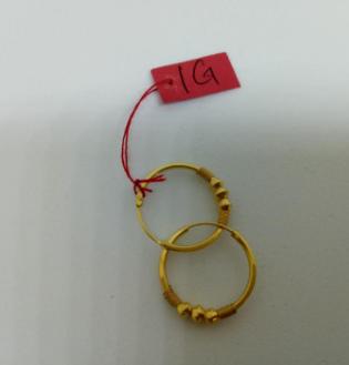Anting Emas 1 gram