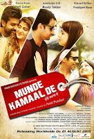 Munde Kamaal De 2015 720p DVDRip Punjabi Movie Download
