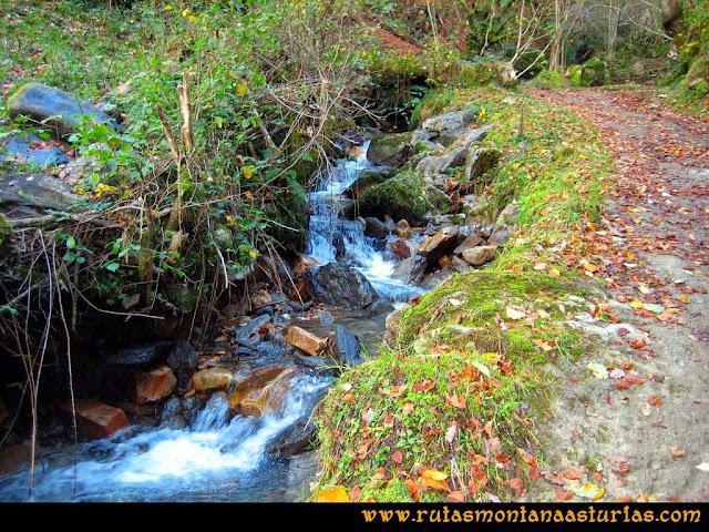 Ruta Cuyargayos: Camino por el río Nozalín