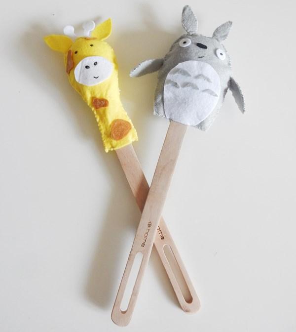 DIY : marionnettes sur cuillère