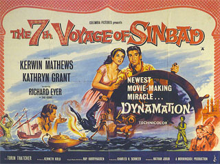 7th Voyage of Sinbad poster