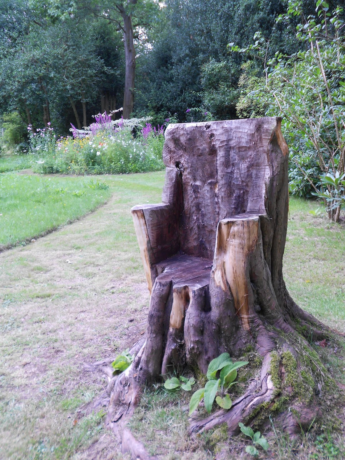 Healing This Wounded Earth Unusual Garden Seating
