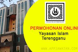 Jawatan Kosong di Yayasan Islam Terengganu - 2 Disember 2018