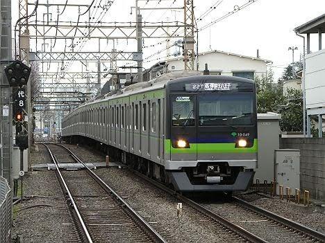 京王電鉄 各停 京王八王子行き8 都営10-300形520F~540F