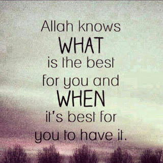 Allah knows what is the best quotes