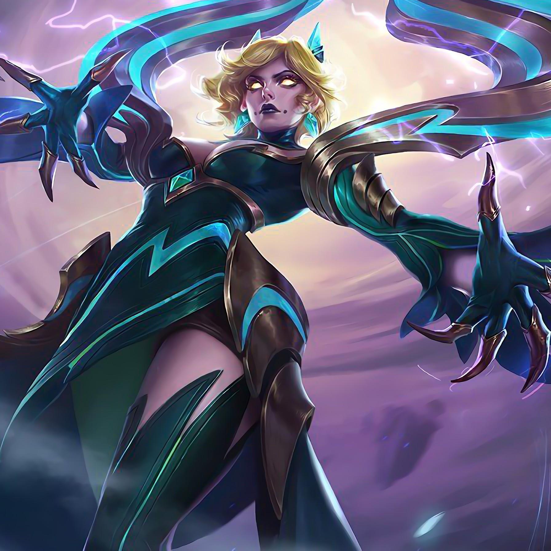 Eudora, Emerald Enchantress, Skin, Mobile Legends, 4K, #81
