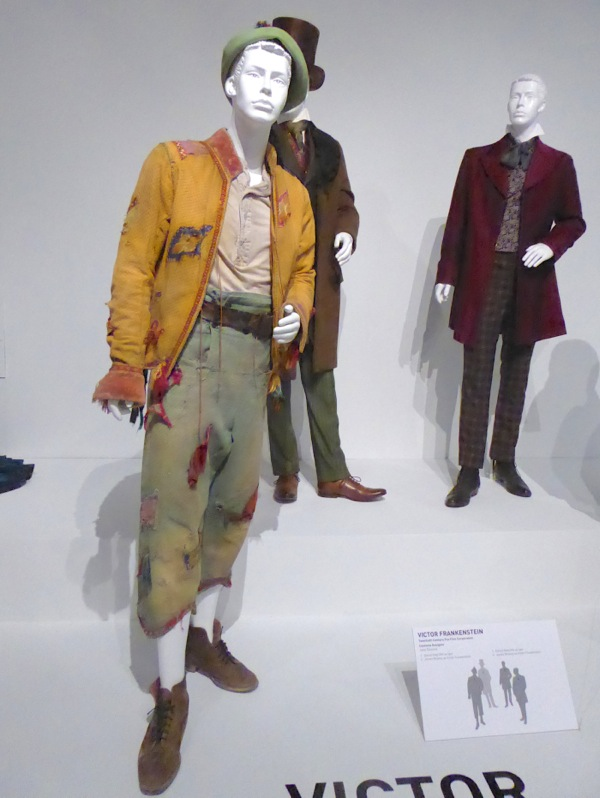 Daniel Radcliffe Victor Frankenstein Igor movie costumes