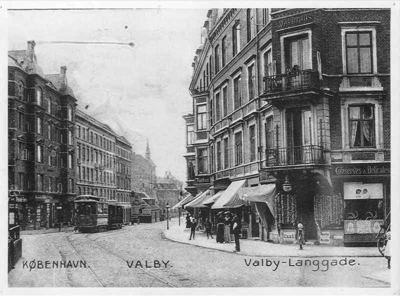 Valbyhus - Valby Langgade | Valby og København, før og nu