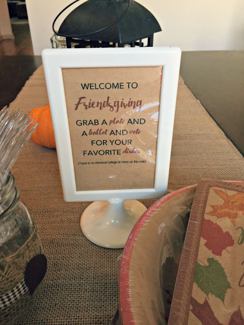Friendsgiving Signage Cordier Events