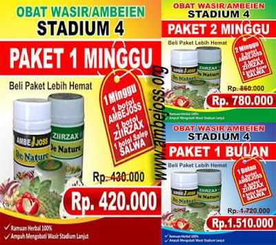Paket Khusus Wasir Stadium 4