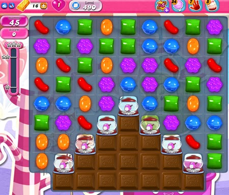 Candy Crush Saga 490