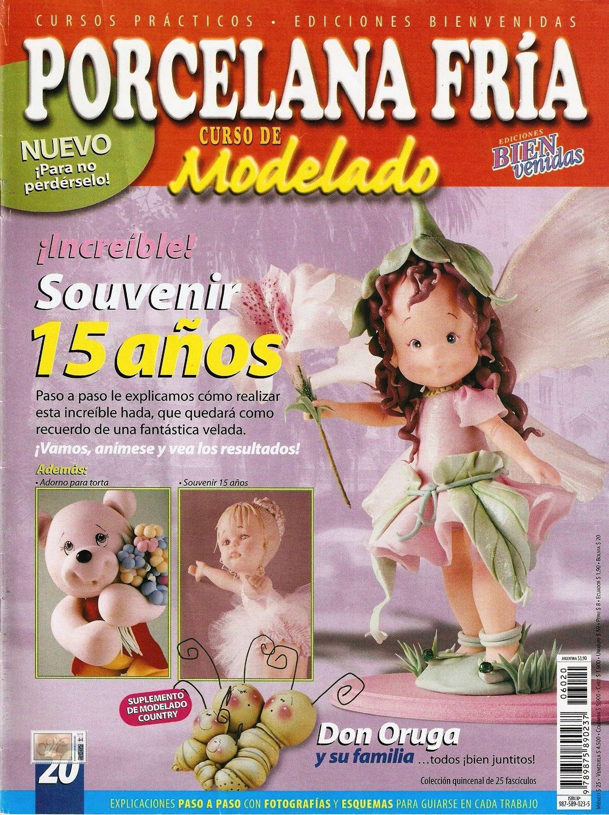 Porcelana Fría Nro. 20, Modelado Souvenir