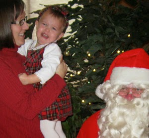 Why Do Kids Scream in Pictures With Santa?