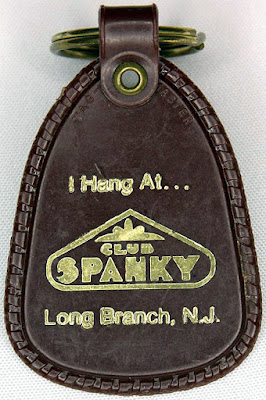 Club Spanky keychain Long Branch, New Jersey