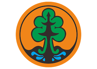 Logo Departemen kehutanan Vector