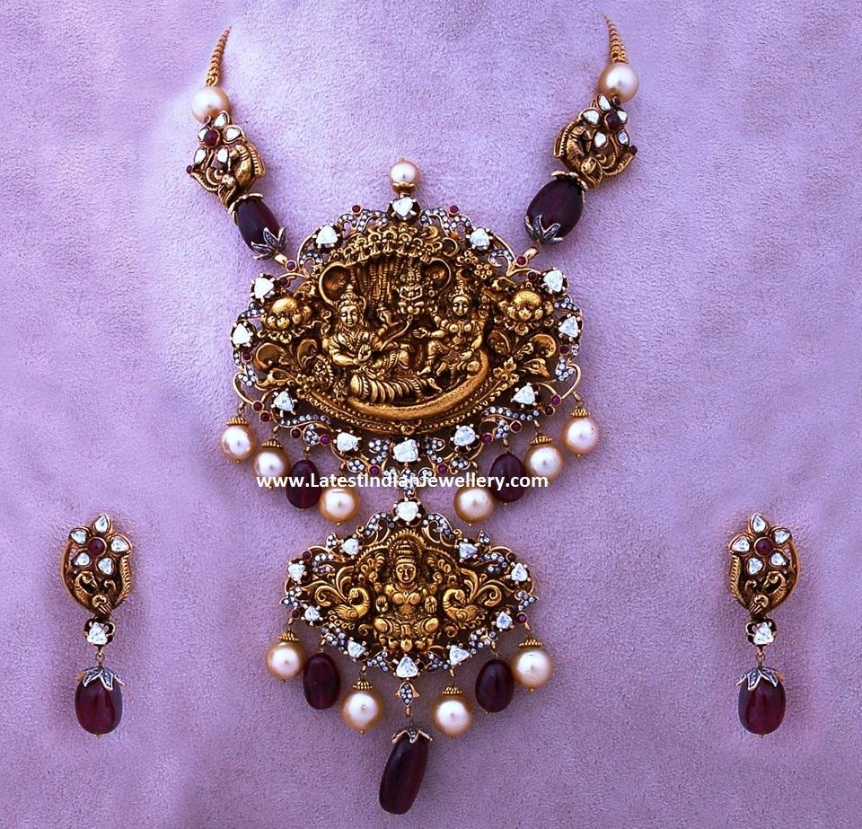 Vishnu Lakshmi Necklace