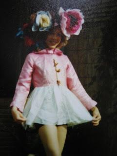Anja cuando era pequeña
