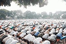 8 Amalan Sunnah Sebelum dan Sesudah Shalat Idul Fitri