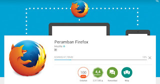 pasang browser mobile firefox