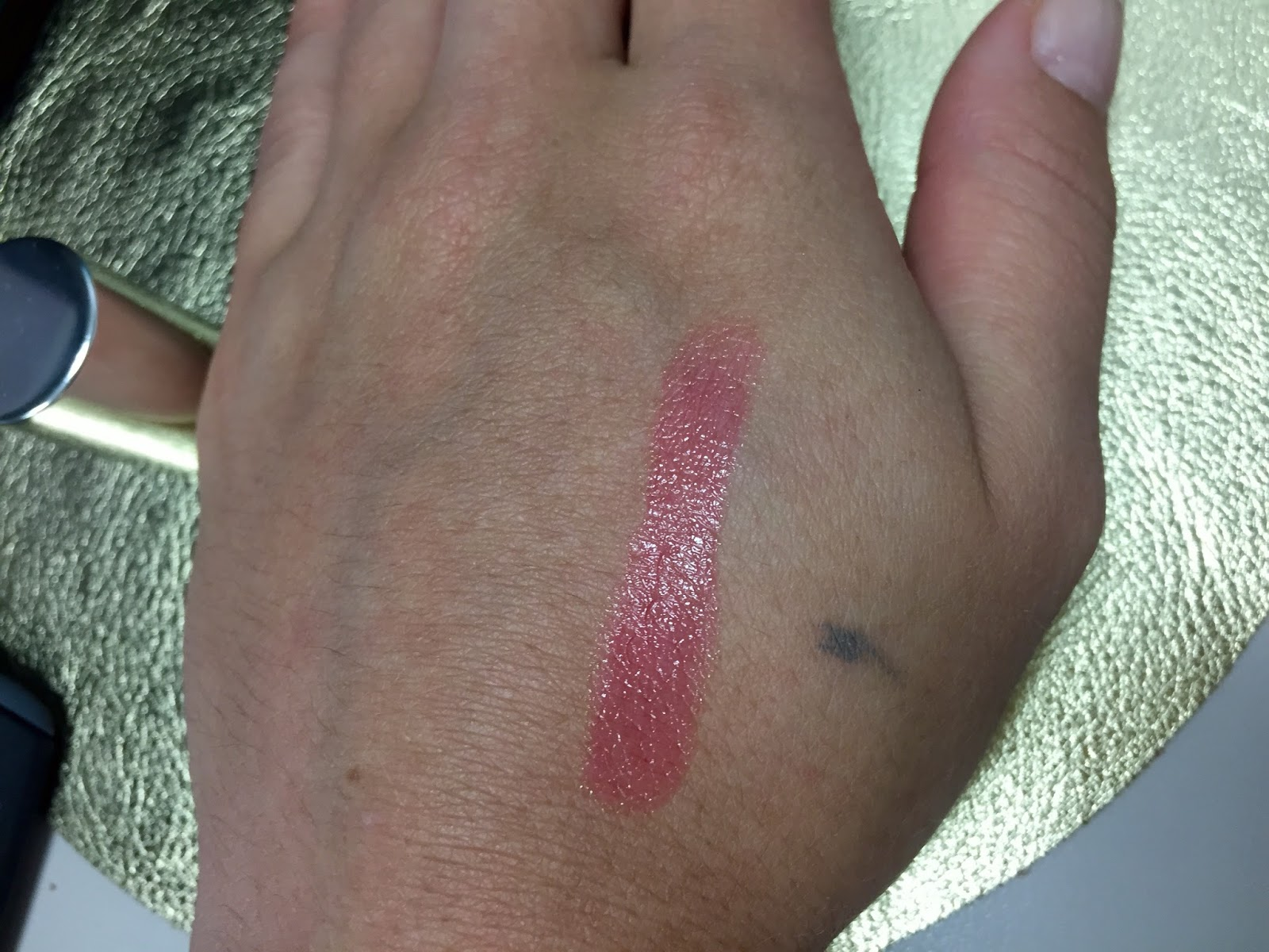 YSL Volupte Sheer Candy #04 Succulent Pomegranate Swatch