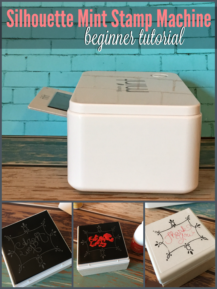 Silhouette mint stampe tutorial beginner, How to use the Silhouette Mint Stamp Machine