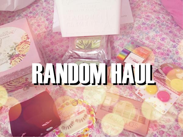 Random Haul ; Blushed Nude palette, eyelashes, lenses etc