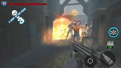 لعبة Zombie Hunter مكركة، لعبة Zombie Hunter مود فري شوبينغ