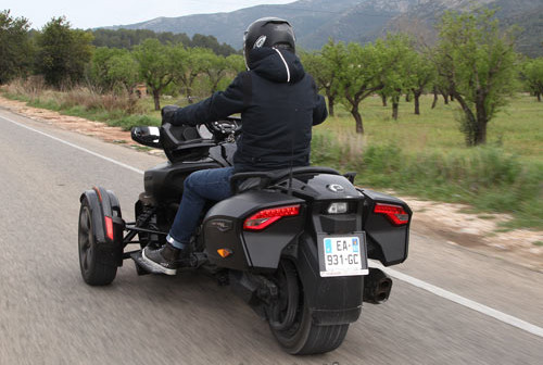 Can Am Spyder Limited F3-T 2016 Test